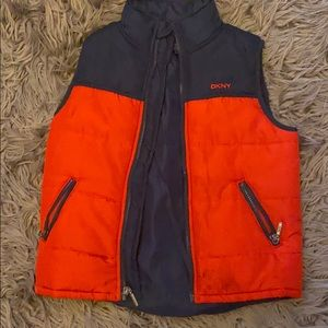 BNWT DKNY boys size 6 jeans and DKNY vest